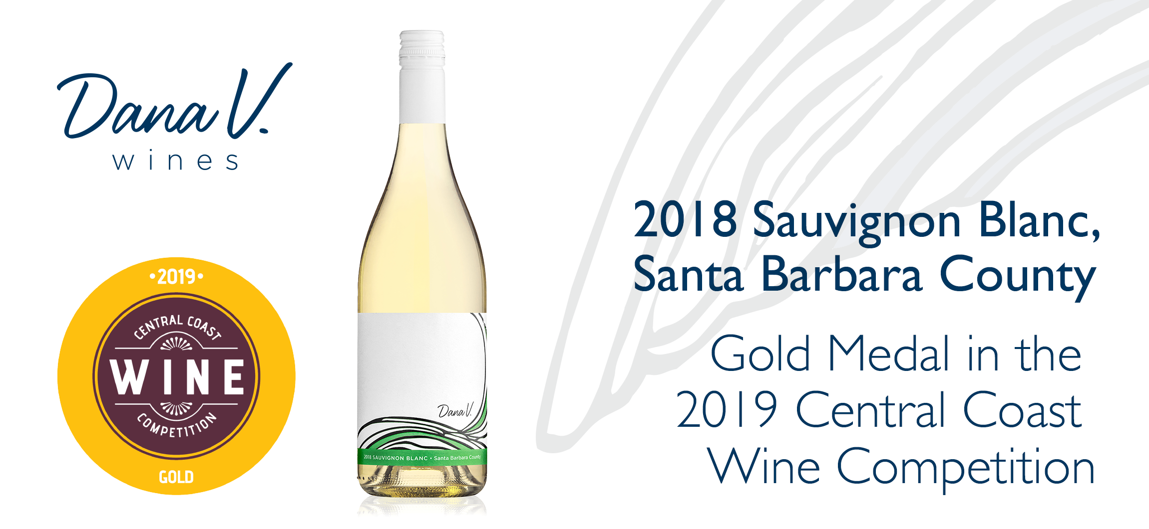 Sauvignon Blanc won the gold medal in the 2019 central coast wine competition