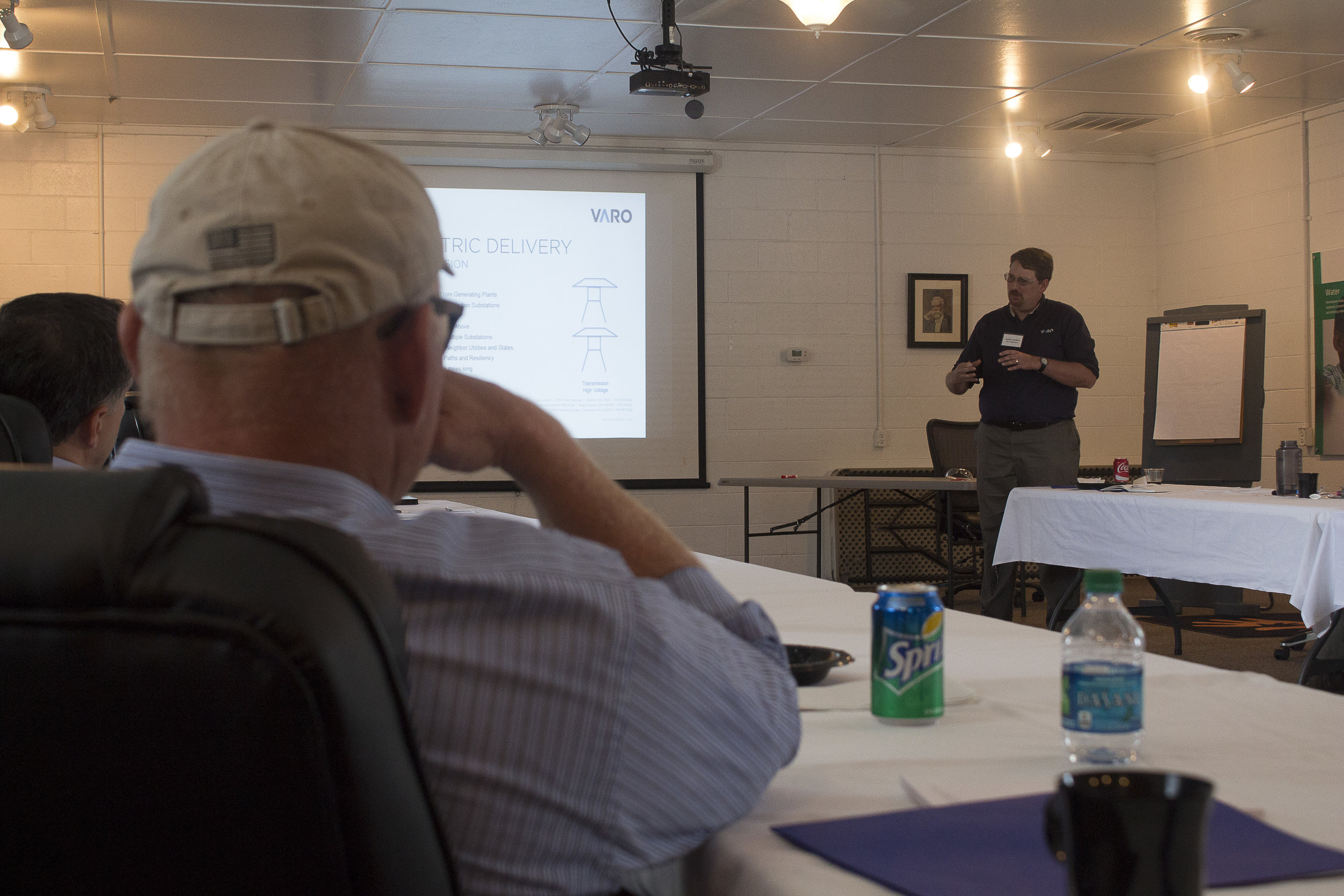 James Landers with Varo Engineers, discusses CHP project feasibility.