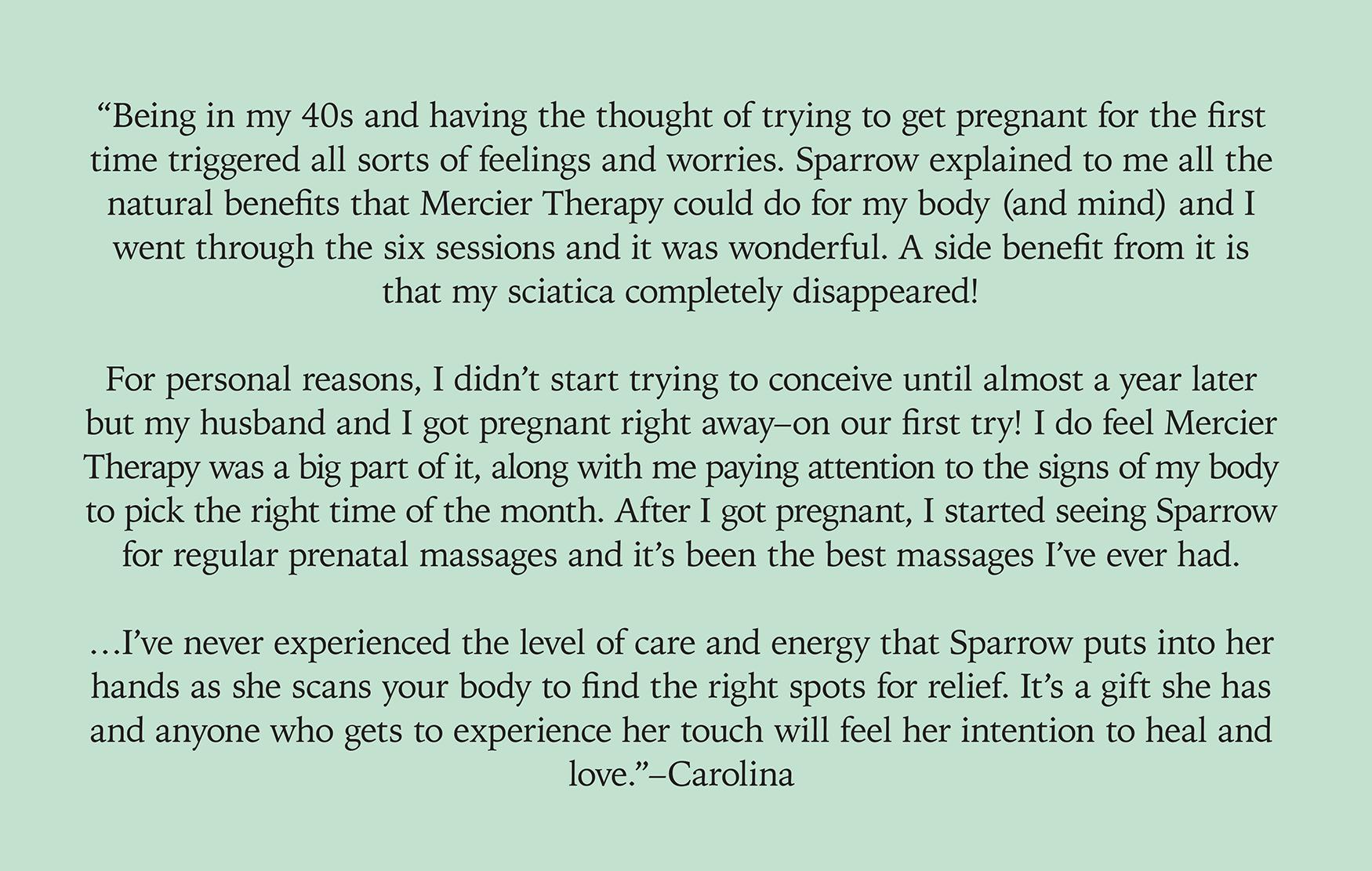 Fertility — Sparrow's Nest
