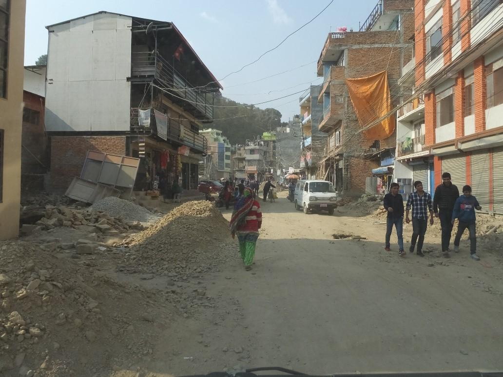 The roads in KTM