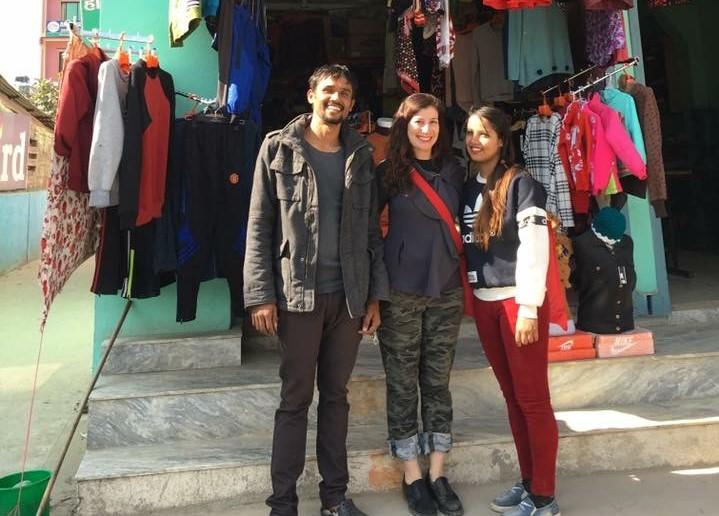 Jarnar, Mamta and me.