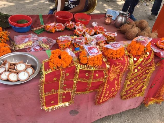 On the way to Pashupatinath Temple in Kathmandu