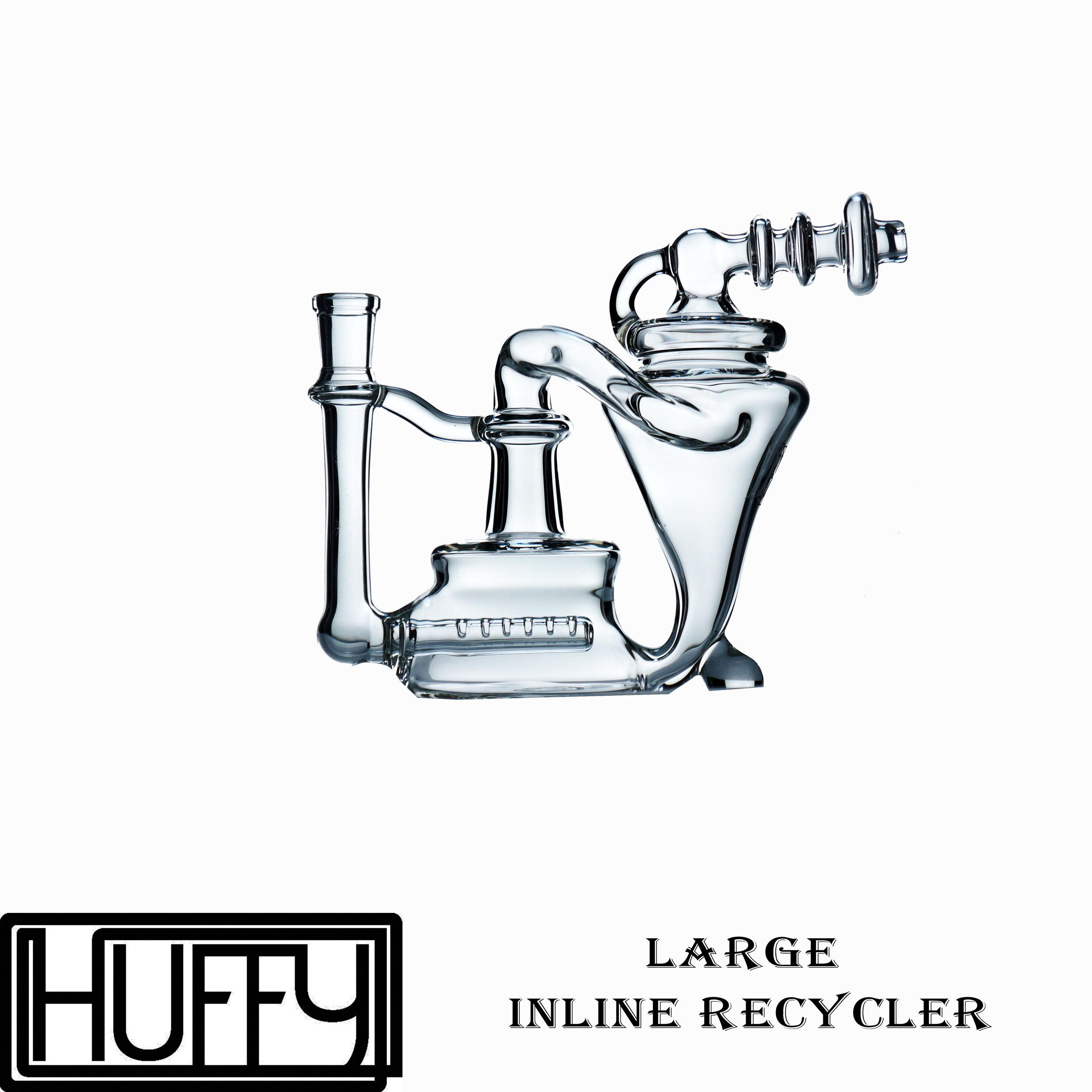 Medium Inline Recycler Whole Sale Price:160  Large Inline Recycler Whole Sale Price: $180