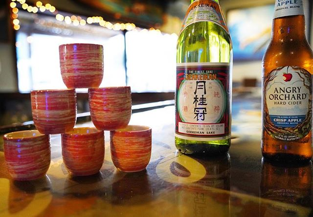 It's Sake it to me Sunday!  2 for 1 sake bombs 🍶💣🥳 starting at 4 until close!