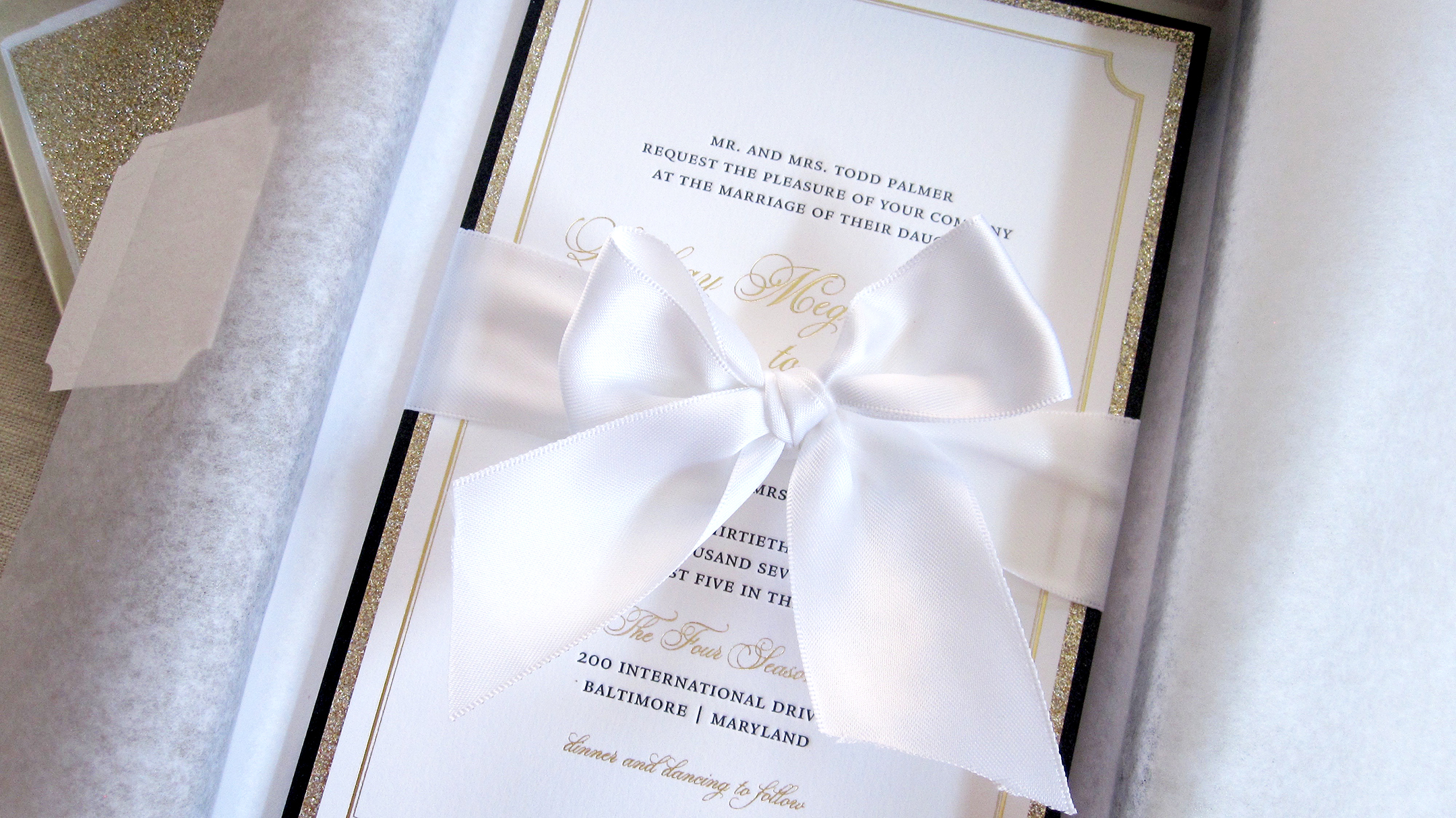 Baltimore Wedding Invitations