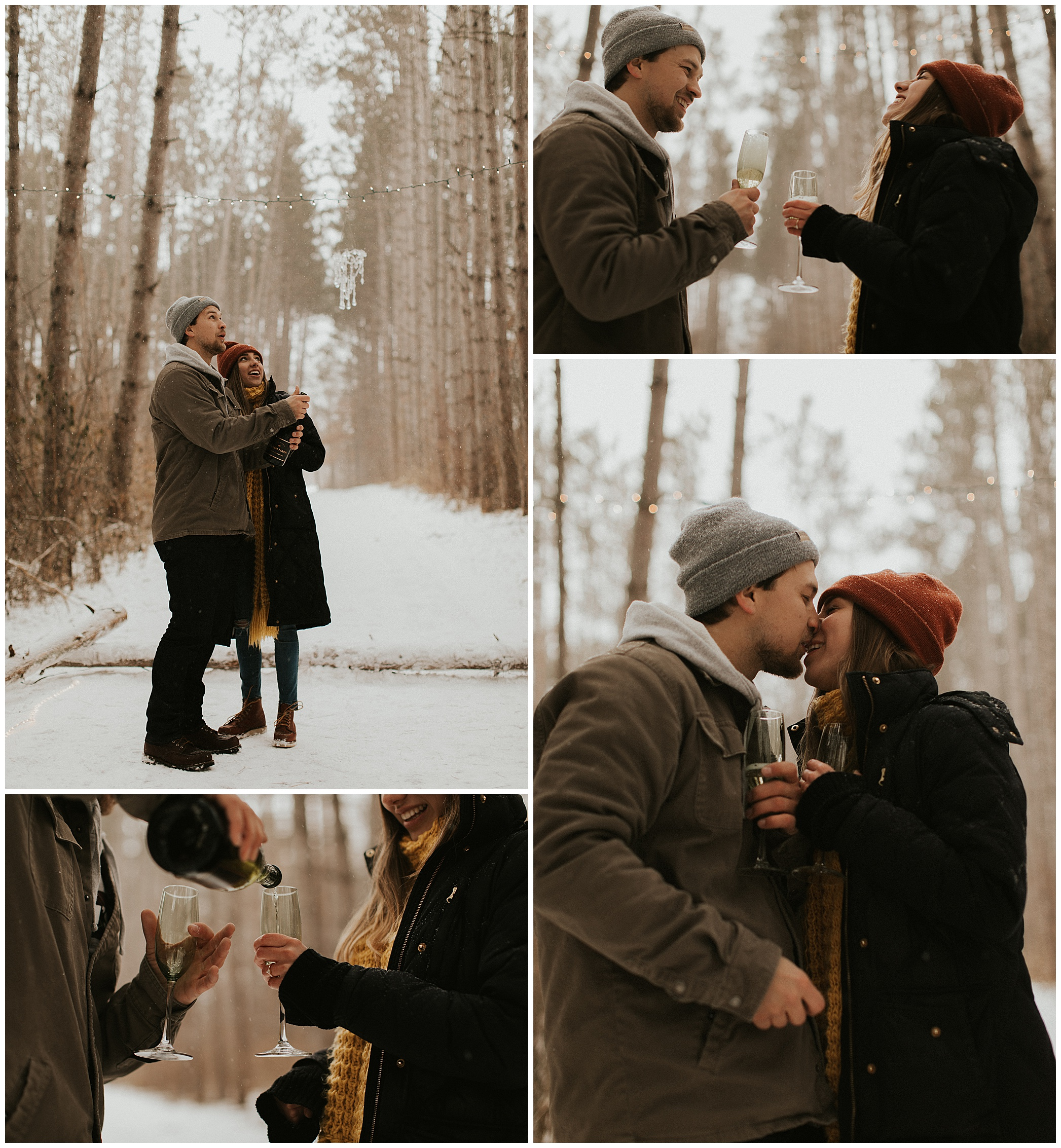 New Years Eve Engagement