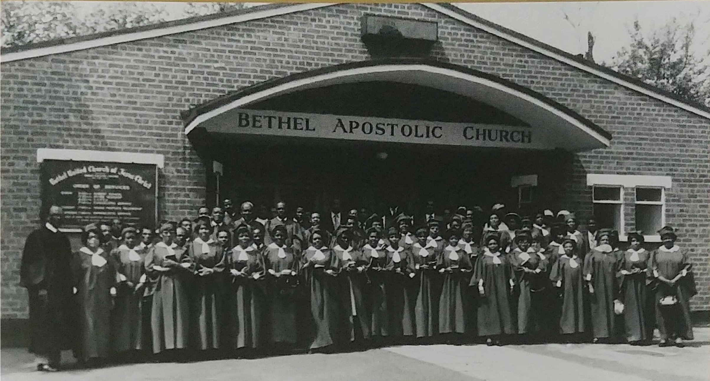 History of Bethel Apostolic Church of Excellence — Bethel