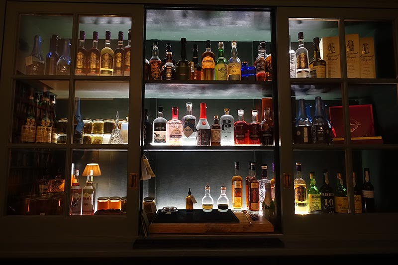 The honesty bar in all its glory