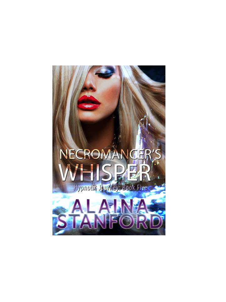 Necromancer's Whisper, Book 5  Jack falls prey to a sultry Necromancer in the human realm.   Magic is not only forbidden in the human realm, it doesn't exist. It doesn't exist for anyone except the Necromancer.   When time passes with no word after Jack journeys across the sea to the human realm, the others decide to take action. They must be careful and hide their Elven heritage. Anyone suspected of magic in the human realm is burned at the stake. Meanwhile, the renegade Trolls are on the move back home and armed for battle. Will the others find Jack and return home in time to stop the renegades? Will Jack survive the Necromancer's evil magic long enough to be rescued?