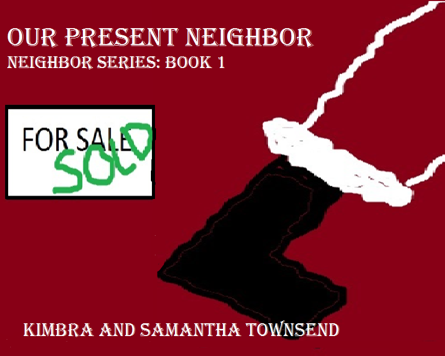 Our Present Neighbor is the first book of the Neighbor Series about the strange neighbors that live on our street. Our Present Neighbor moves in one snowy winter day. They have lots of 'kids', strange looking pets that eat moms Christmas flowers and make noises late into the night.