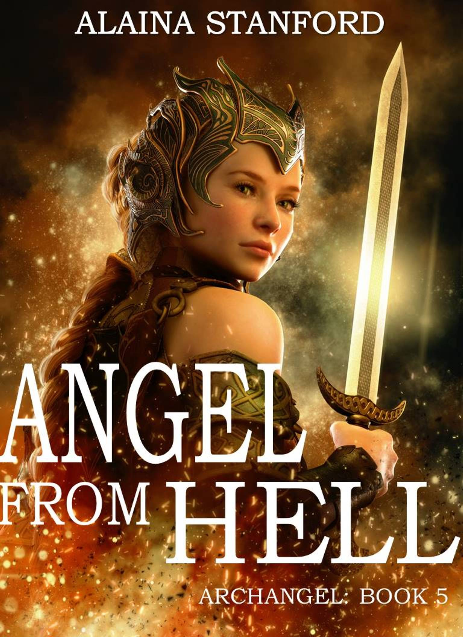 Angel From Hell, Archangel Book 5--- Coming August 2017  Is she too beautiful to be evil?  O'liv'et lost her wings in the Great War after she chose to follow Lucifer. It was the only mistake she ever made and it earned her an eternal place in the lake of fire. Lucifer was no more. Once he and all his followers were cast out of heaven, Lucifer' could no longer hide the evil inside.Slowly over a millennia O'livet watched in horror as Lucifer transformed into Satan, the King of Hell.Only then did she realize Lucifer had not only betrayed God, but all of his followers as well. He was not Gods equal, he could never be. There was no new Garden of Eden waiting for them beyond God's reach as he had promised. One day in deep despair O'livet crawled out of the pit of hell and stood at the edge of the chasm that separated them from heaven. She fell to her knees and dared to pray to be shown the path to redemption. A vision flashed across the sky before her of a young man with coal black hair and dark brown eyes. The wind whispered his name and her breath caught in her throat. Suddenly everything became clear.