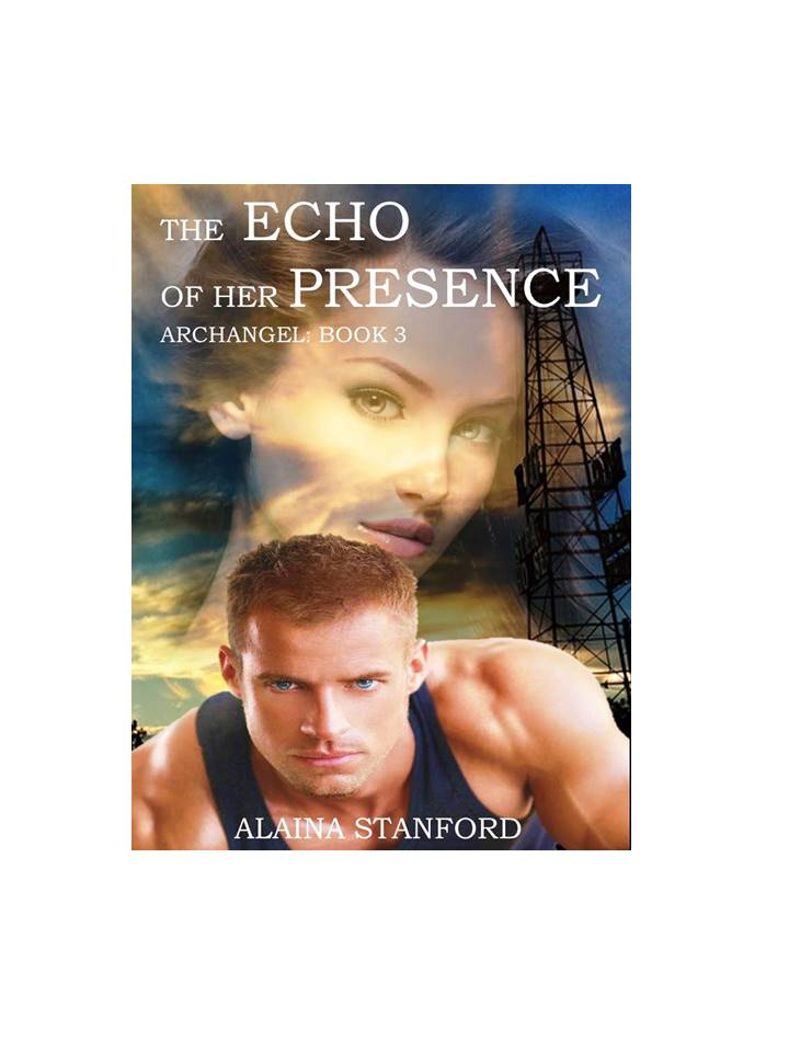 The Echo of Her Presence, Book 3  Ariel was certain she'd spend eternity feeling the fool. She'd fallen for the oldest trick in the book and mankind paid the price. Thousands of years ago, Ariel's moment of weakness changed the face of the world. She not only failed mankind; she had failed God. As a result, her heart became an island of ice, encased inside a barrier of steel no one could penetrate. Then she gazed into the steely gray eyes of a stubborn Texas rancher. A rancher that had no idea how desperately he needed her help.