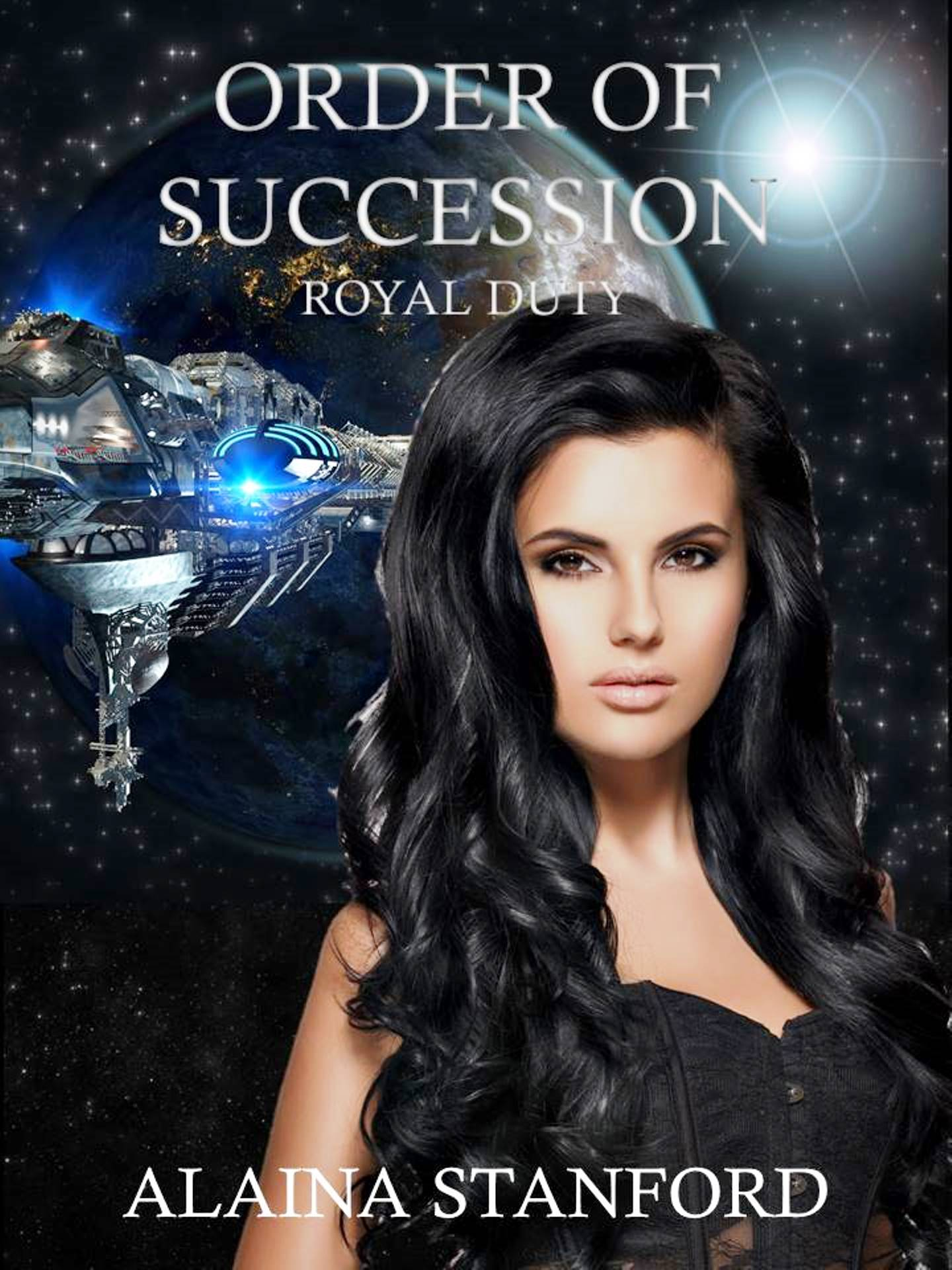 Order of Succession, Book 1- Science Fiction Romance Adventure   Kaelyn is the princess of Chelyana is a tropical paradise. Eighty-five percent of its surface is covered in water spotted with islands offering sandy beaches, lush foliage, and luxury resorts.  She knows nothing about politics or international law. She knows nothing about an arranged marriage. She's about to find out.