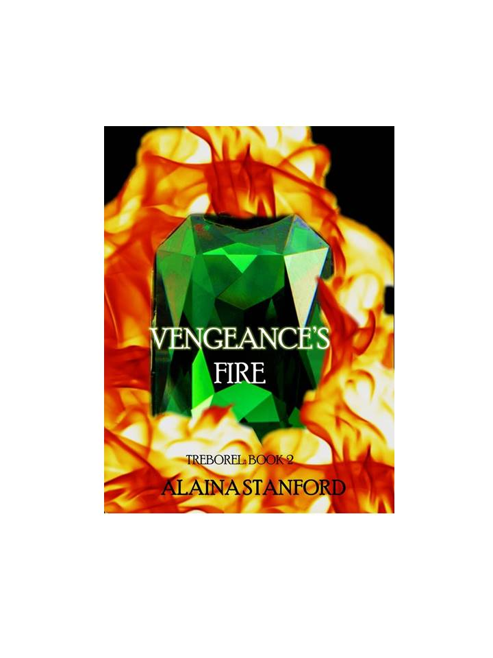 Vengeance's Fire, Treborel Book 2   Cap and Kendra discover the mountains hold a horrifying secret which could lead to the end of the Empathic way of life, as well as their own. A secret that legends have foretold.