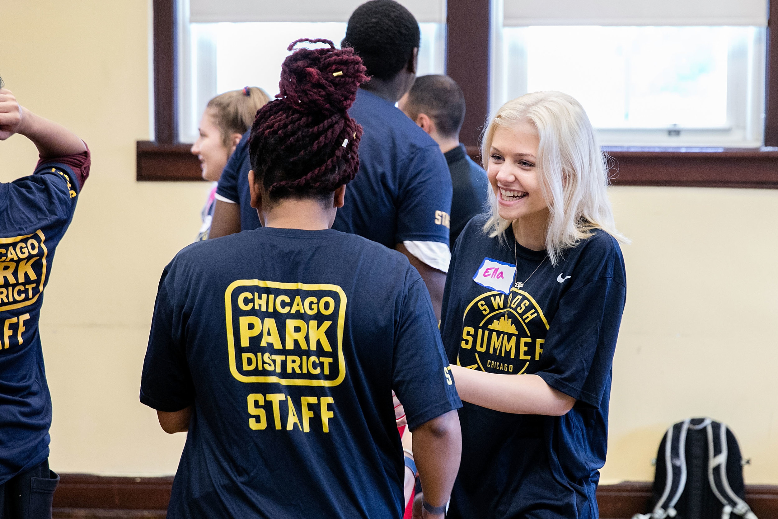 CHICAGO, IL - JUNE 28:  Up2Us Sports Trains Chicago Parks Staff in Youth Development on June 28, 2016 in Chicago, Illinois.  (Photo by Jeff Schear/Getty Images for Up2Us)