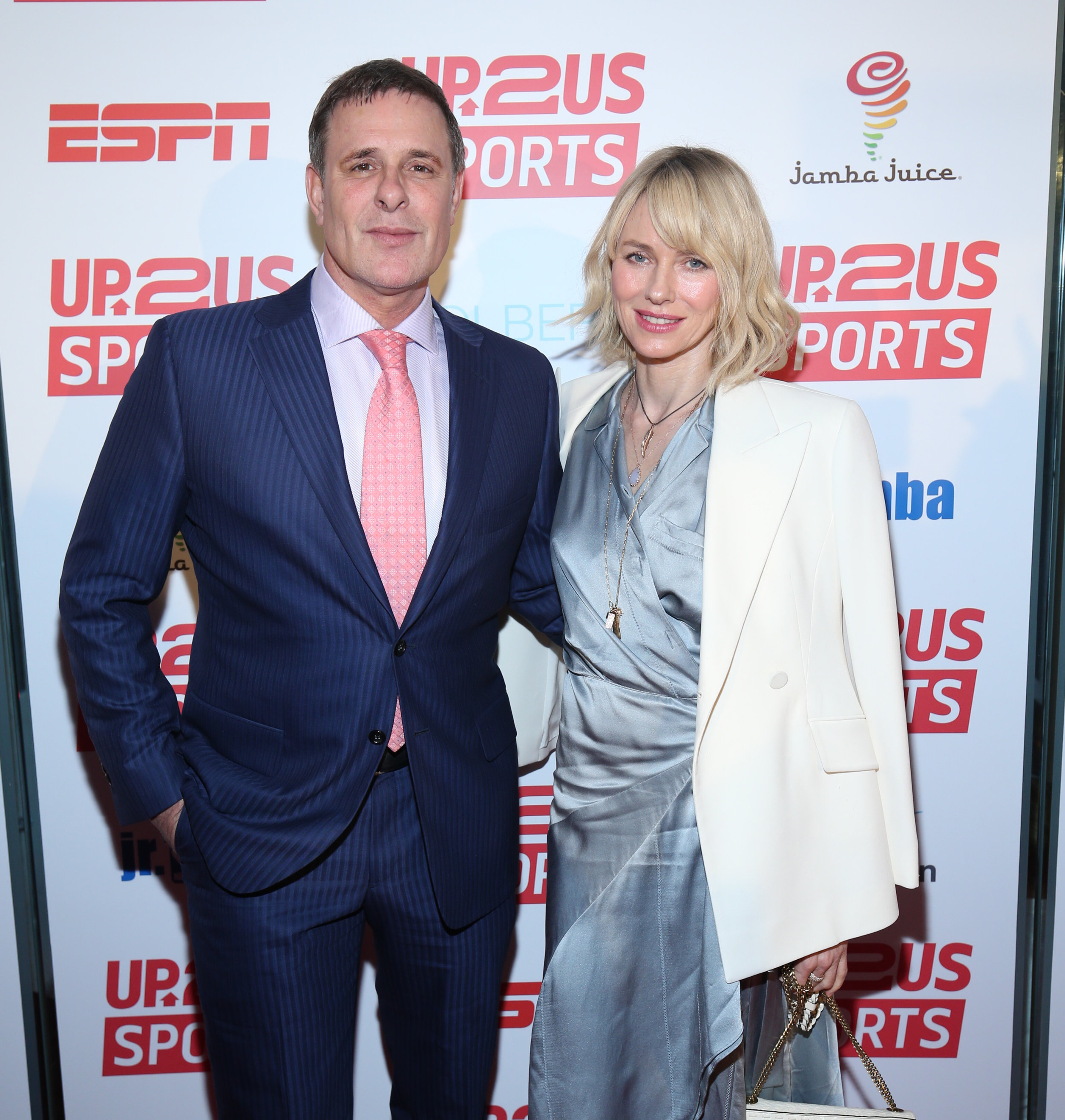 NEW YORK, NY - MAY 15: Dr. David Colbert (L) and Naomi Watts attend the Up2Us Sports Gala 2017 at Guastavino's on May 15, 2017 in New York City. (Photo by Rob Kim/Getty Images for Up2Us Sports)