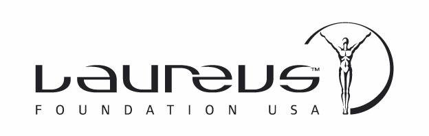 laureus USA Black logo