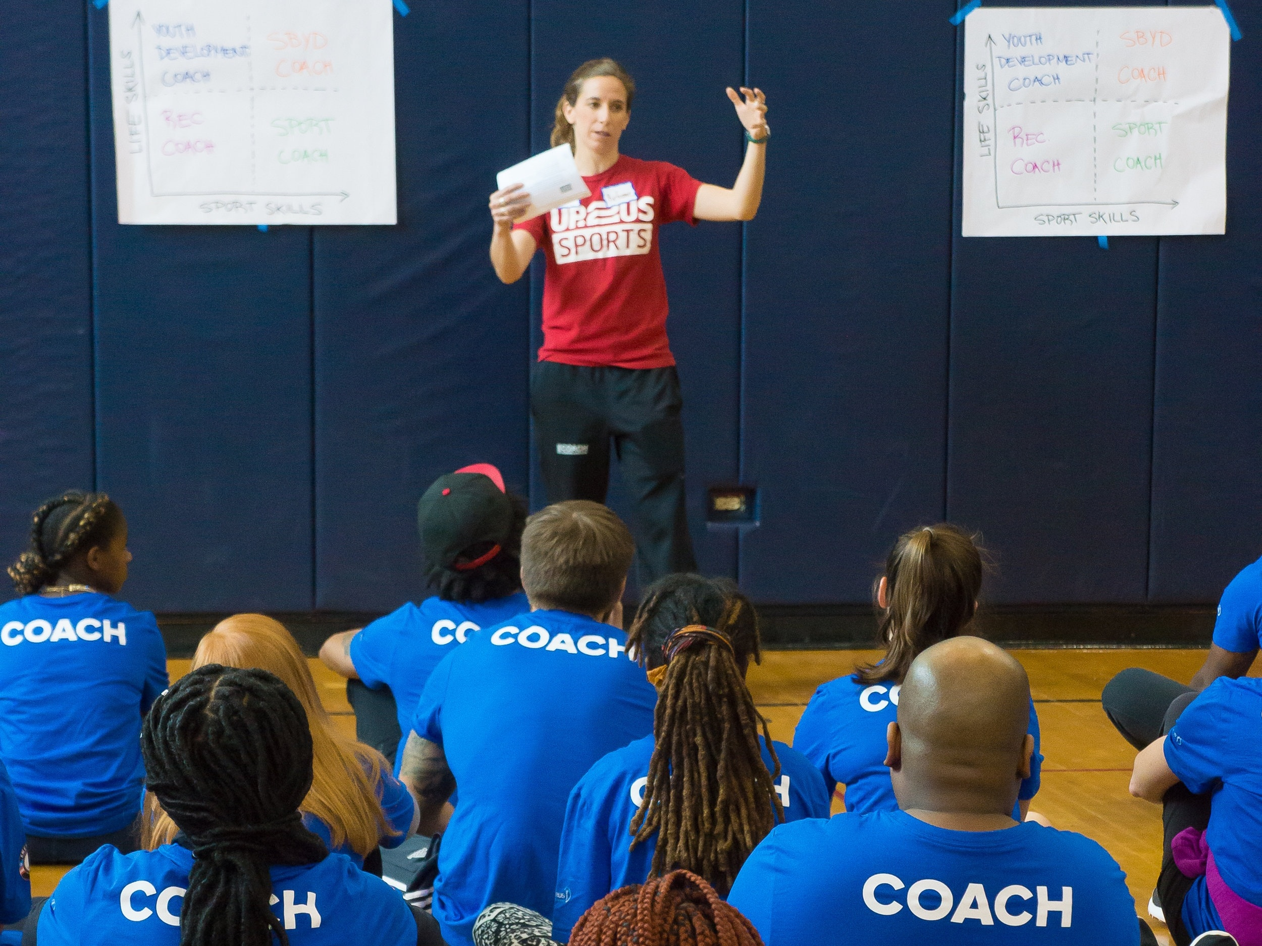 Up2Us Sports | Coaching for Change