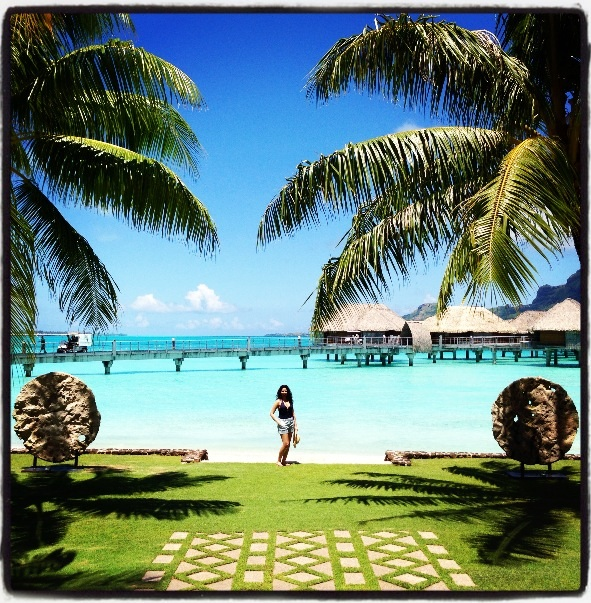Me in Bora Bora, 2013
