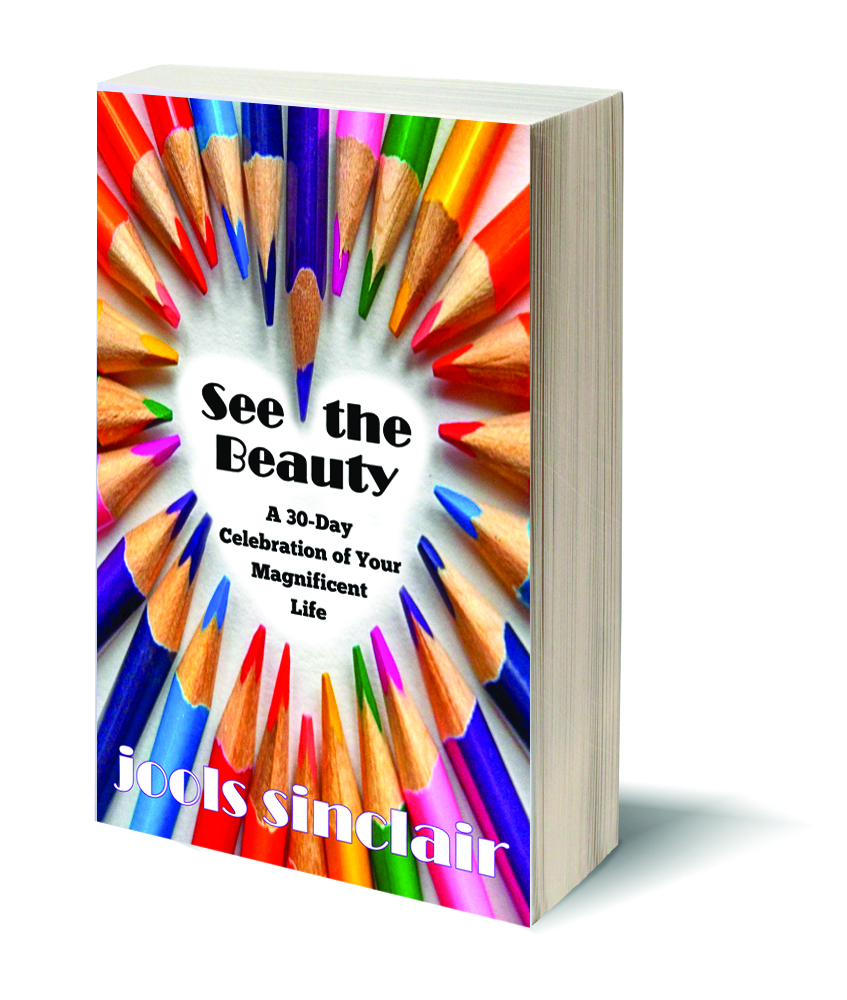 See the Beauty: A 30-Day Celebration of Your Magnificent Life - Motivational essays, assignments, and exercises to begin your journey toward a new life through the power of mindful gratitude. Available at Amazon.com and other online stores in both eBook and paperback formats.AMAZONAPPLE, B&N, KOBO, etc.