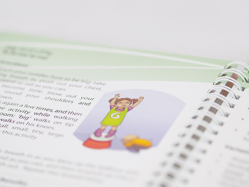 Sport Waikato Baby Handbook Educational Publication Design