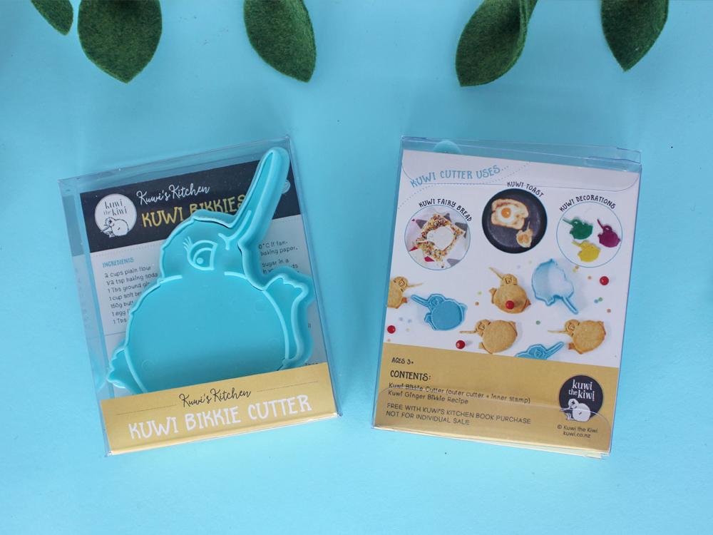 Kuwi the Kiwi Bikkie Cutter Cookie Design Product