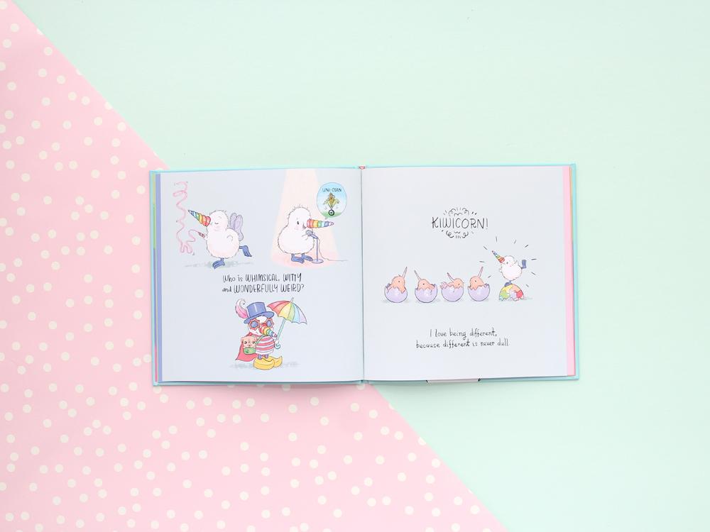 Kiwicorn Children's BookS Illustration Kat Merewether