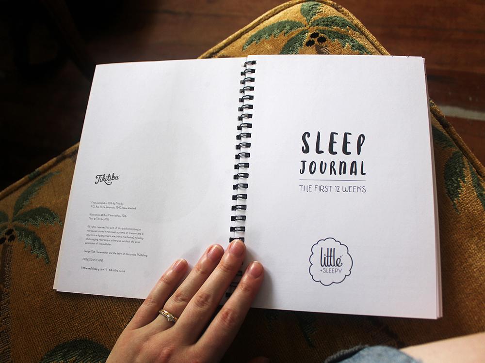 Little and Sleepy Sleep Journal Design Publication