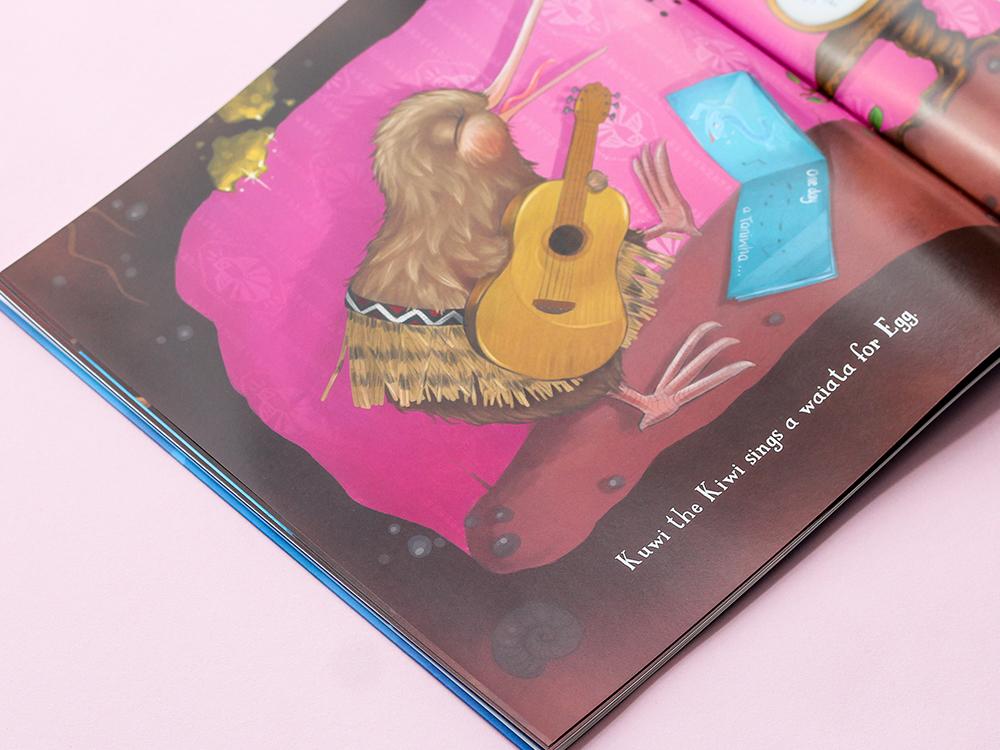 Kuwi the Kiwi SERIES Children's BookS Illustration Kat Merewether