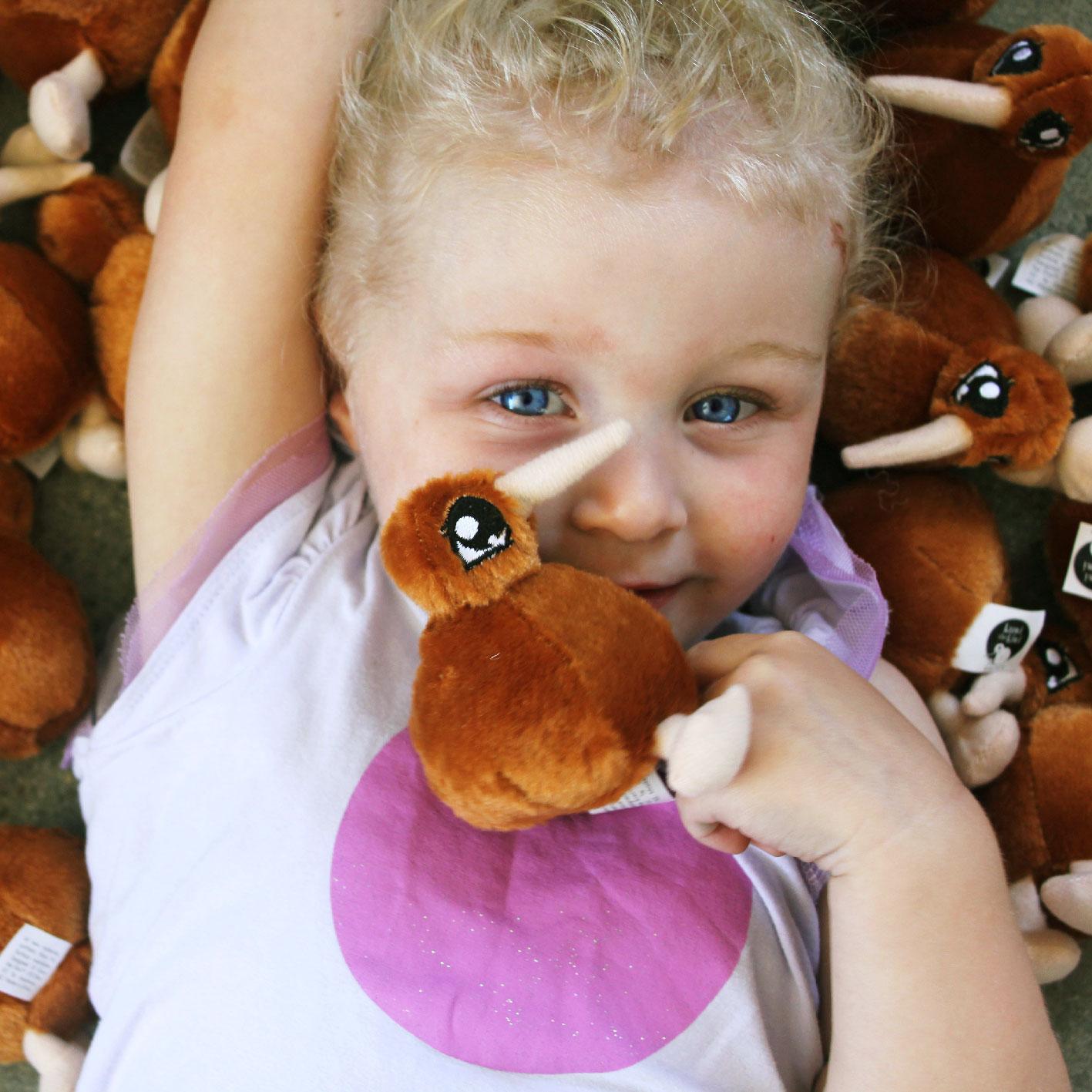 Kuwi the Kiwi Soft Toy Design Product