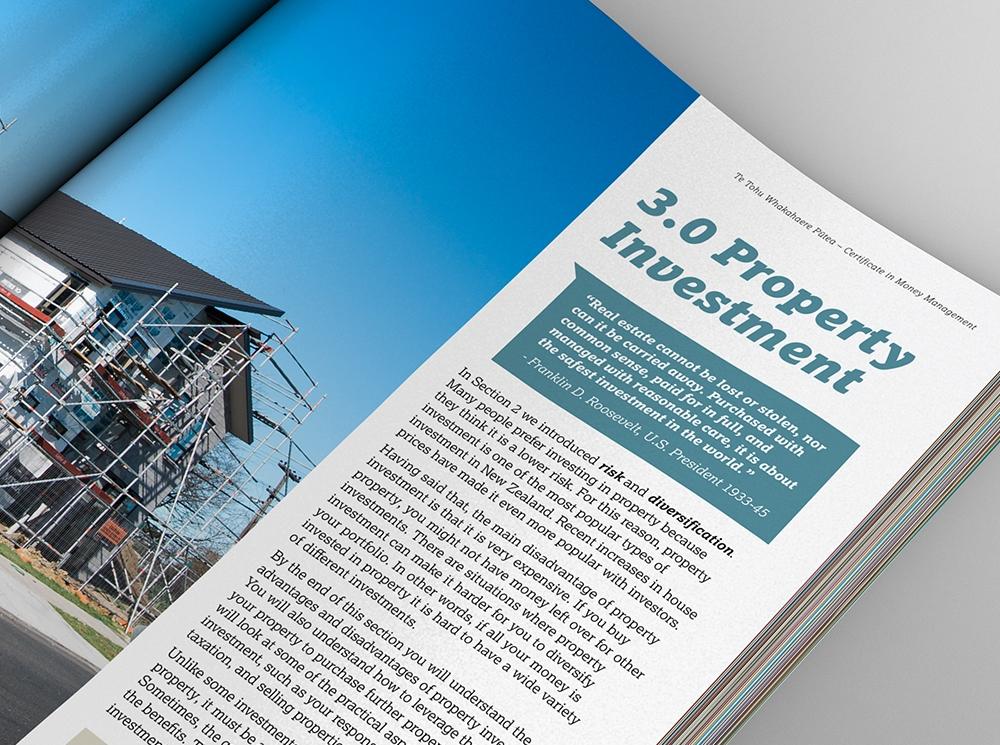 TWOA Aotahi Educational Publication Design