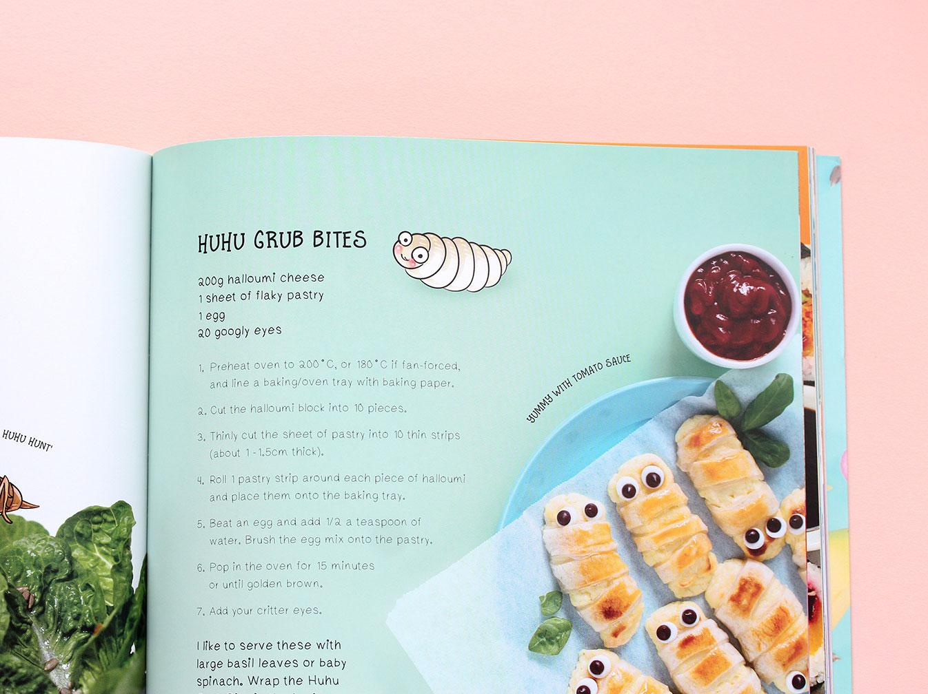 Kuwi the Kiwi - Kuwi's Kitchen, Kiwi Kids' Cookbook