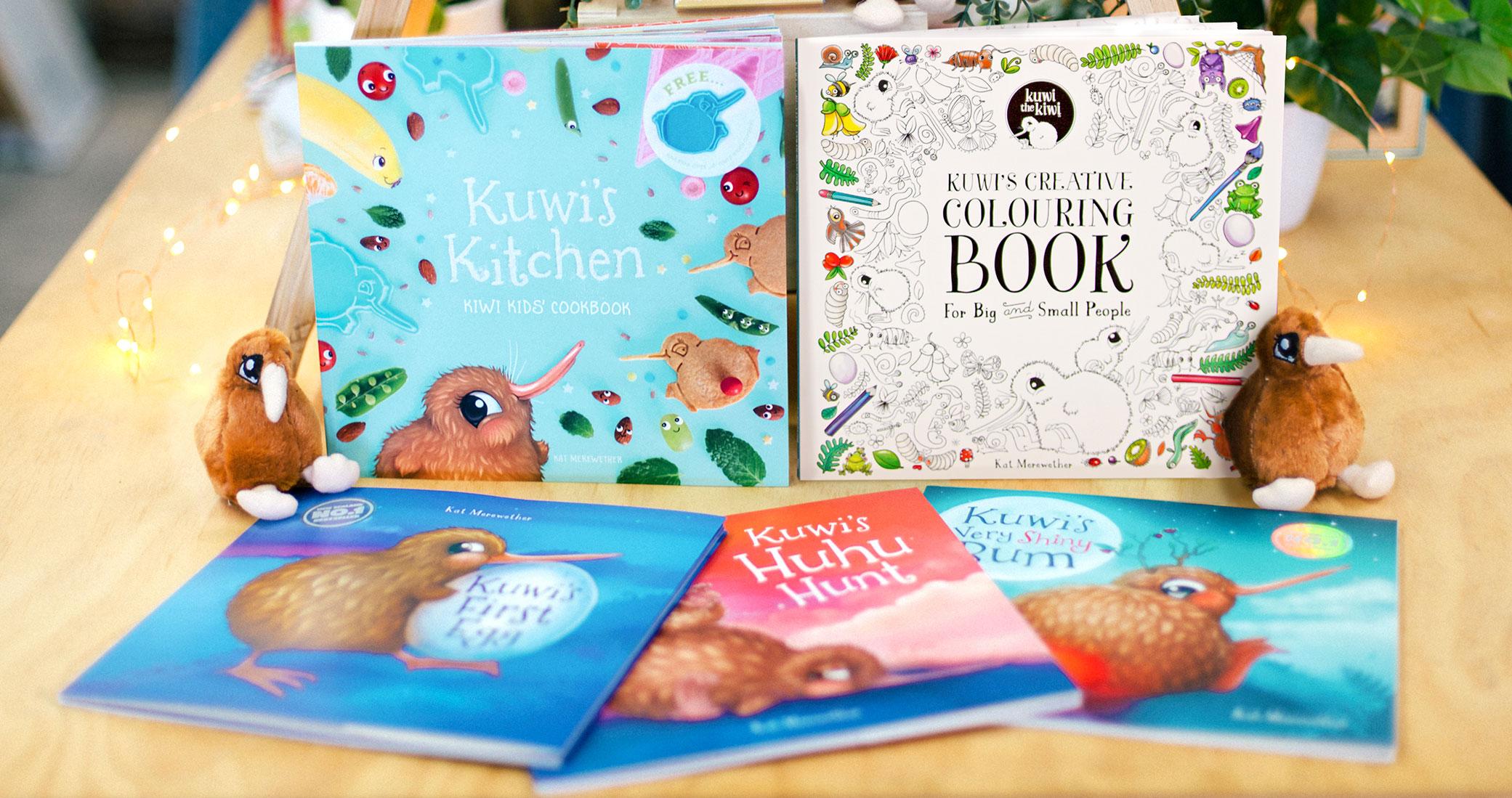 Kuwi the Kiwi Series