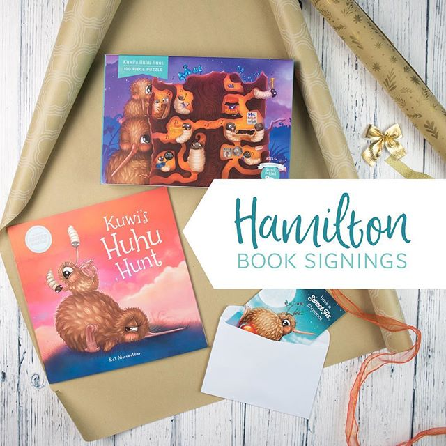 HAMILTON: A sneaky event for the adults (a chance to grab a signed copy for under the Christmas tree, without the kids knowing), and then a fun one for the kids... 🌟⭐️⭐️⭐️⭐️🌟 ADULTS: Thursday night (6th of Dec) from 5.30pm - 6.30pm, at Chi Chi Deluxe, Barton St, Hamilton. Late night shopping. (@funkygifts.co.nz ) 🍓🍓🍓🍓🍓🍓 KIDS: Book readings & signing Sat 8th Dec at 2pm, at @countryprovidore @punneteatery Tamahere. 🍓🍓🍓🍓🍓🍓 See you there!