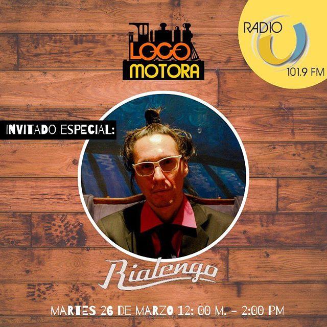 Mañana compartiendo en @radiou101.9 con @ceshiaubau y @barbozakarola!