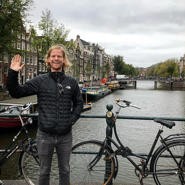 HALLO, AMSTERDAM! Excited to meet you all during tonight's meetup at Cuddle Pub. See you at 8pm!
