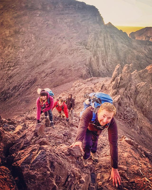 "Take the road less travelled. The hidden side of Morocco's Atlas Mountains. Next trip T minus 12 days. . . 2020 dates out now #linkinbio  #atlasmountains #morocco #theroadlesstravelled #stepoffthebeatentrack #mgoun #toubkal #ouanoukrim . . www.threepeaksafrica.com . . . M'goun (4071m) - ""the hardest one"" ✔️ Toubkal (4167m) - ""the highest one"" ✔️ Ouanoukrim (4089m) - ""the 'technical' one"" ✔️ . . . #threepeaksafrica #threepeaksmorocco #morocco #morocco🇲🇦 #exploremorocco #discovermorocco #simplymorocco #peoplewhohike #hiking #hikingadventures #mountains #mountainlovers #mountainsdventures #adventure #adventuretime #trek #trekking #trekkingholiday #nomadic #nomadict #traveladdict #timetogetout"