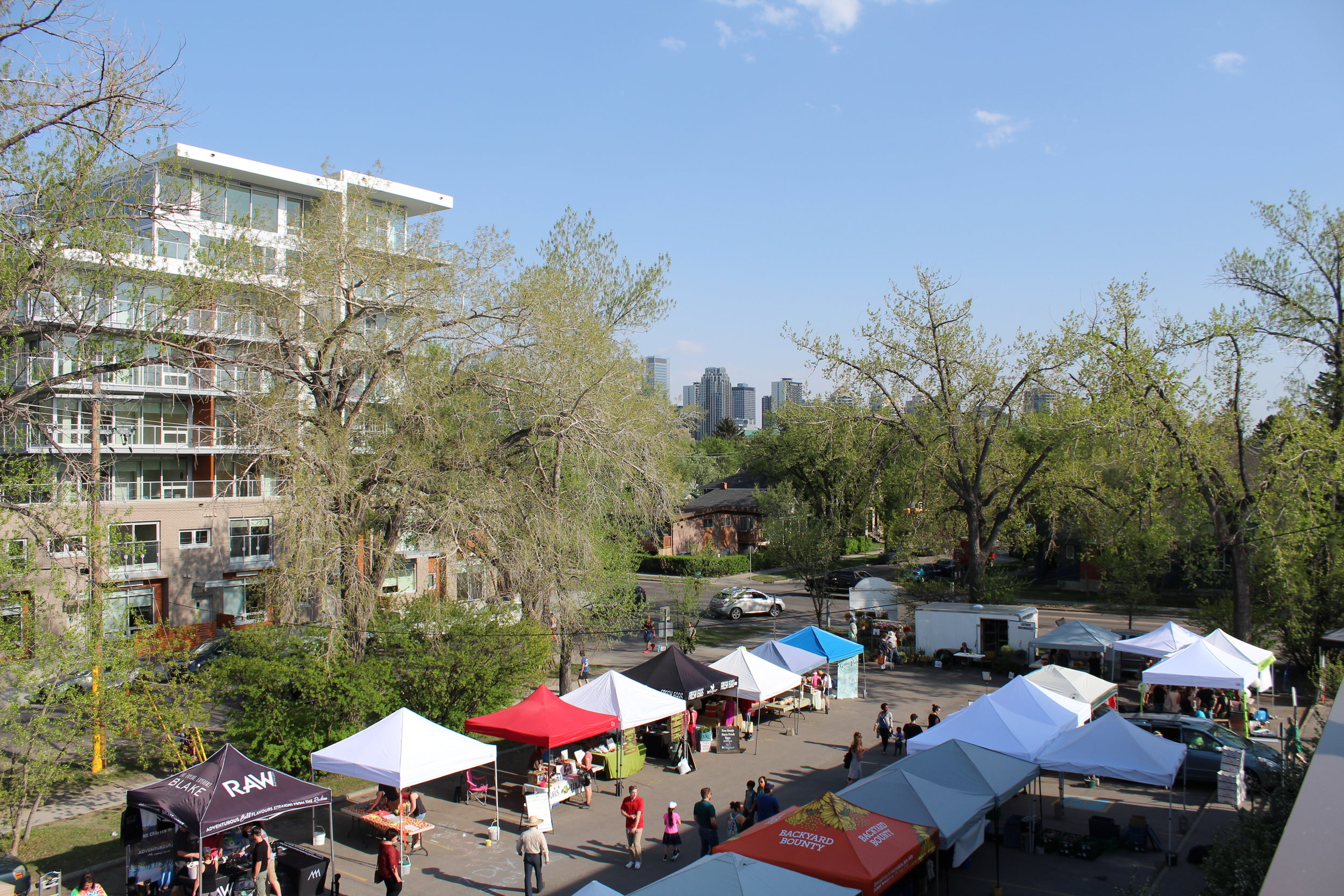 May 15th will be our first Outdoor Market of the season! See you in the East parking lot 3-7pm.