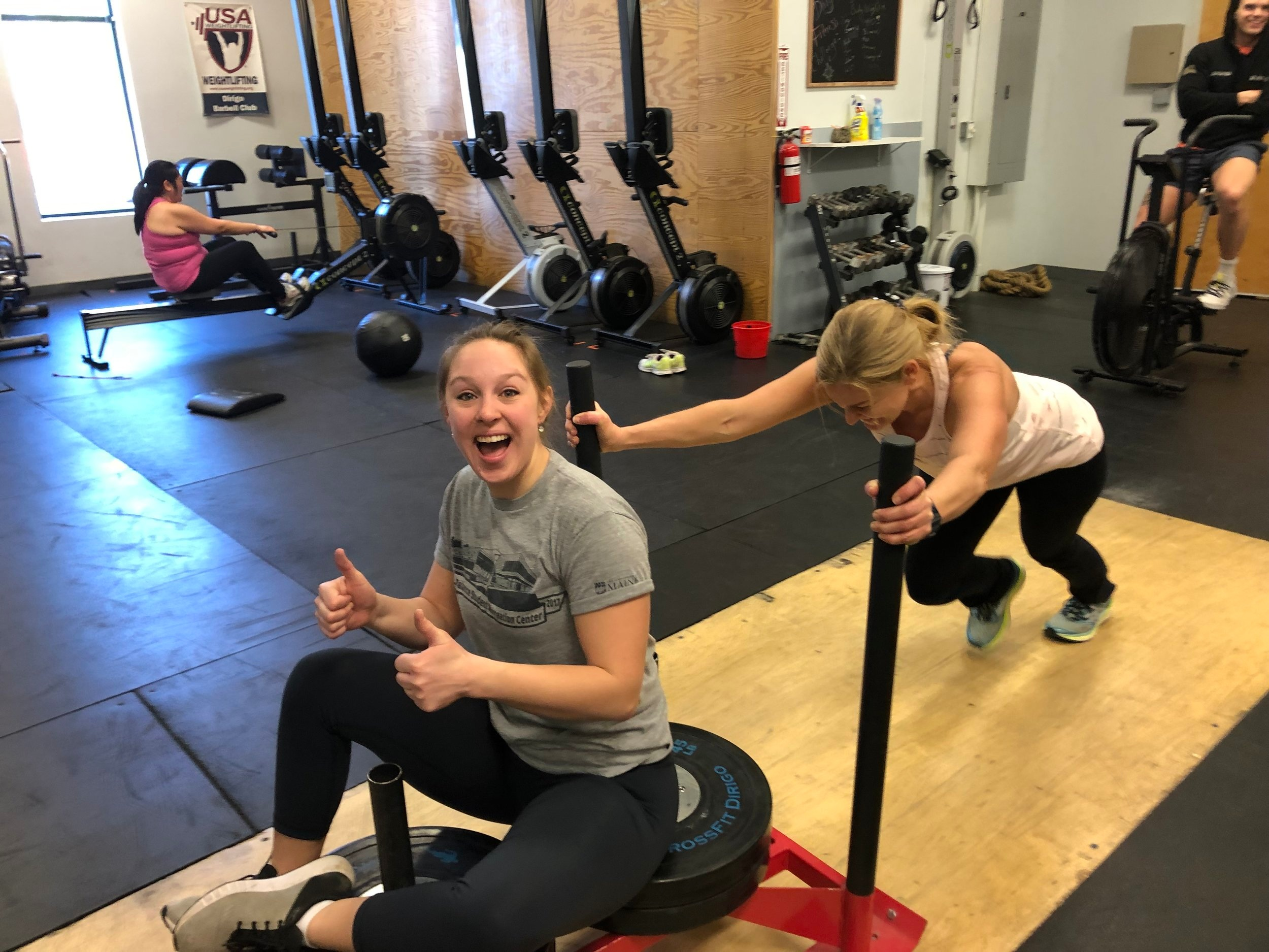 Personal Training - If you are looking for training that will be safe, relationship-based, and 100% focused on you, then one-on-one training is for you! Your coach will gear every workout, exercise, repetition, and set toward your main goal. Whether you are just getting started or are just ready to see results that match your effort, at Dirigo Fitness you will be provided with the support, encouragement, and education to ensure your success.