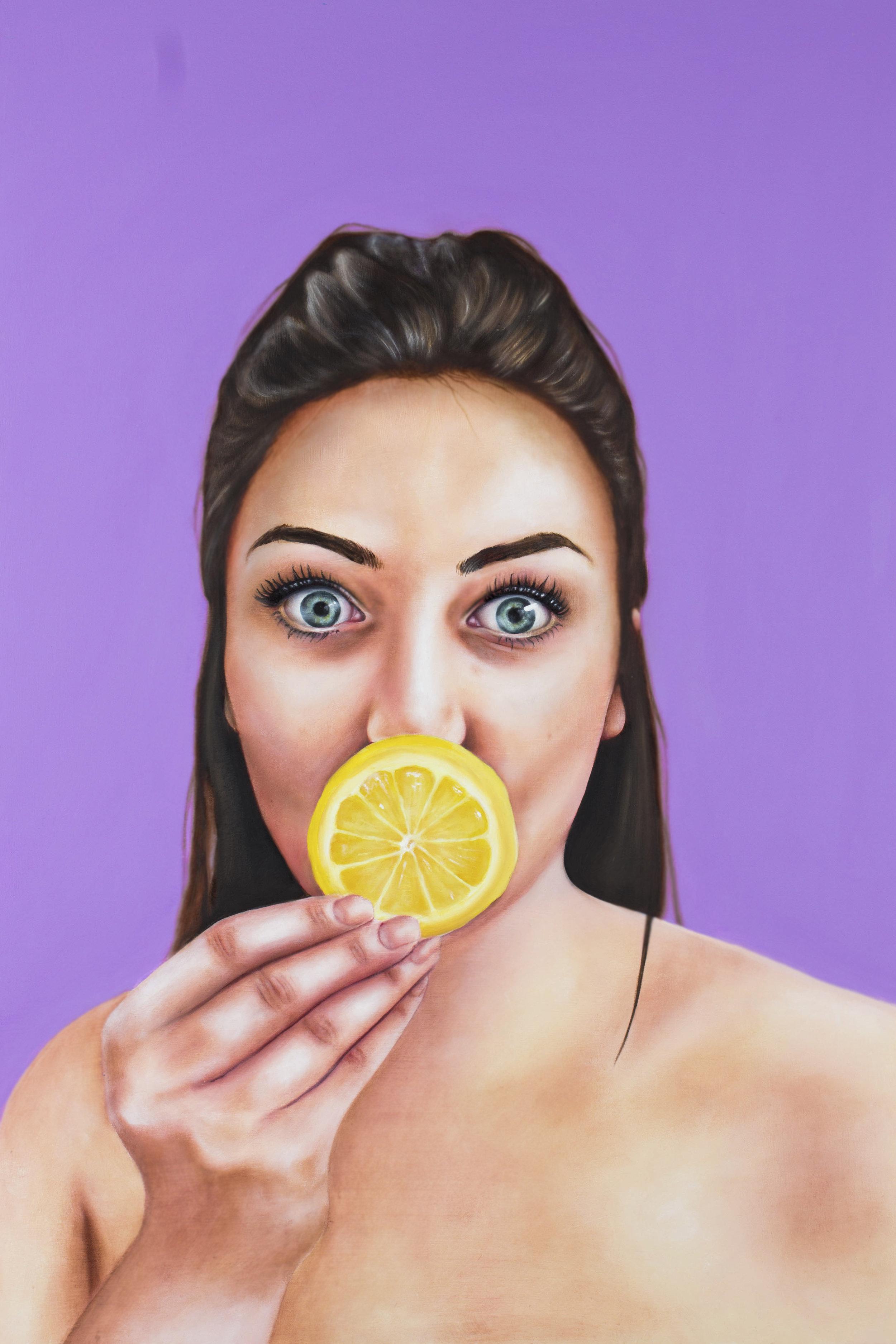 Paige,  2017. Oil on panel, 24x36.