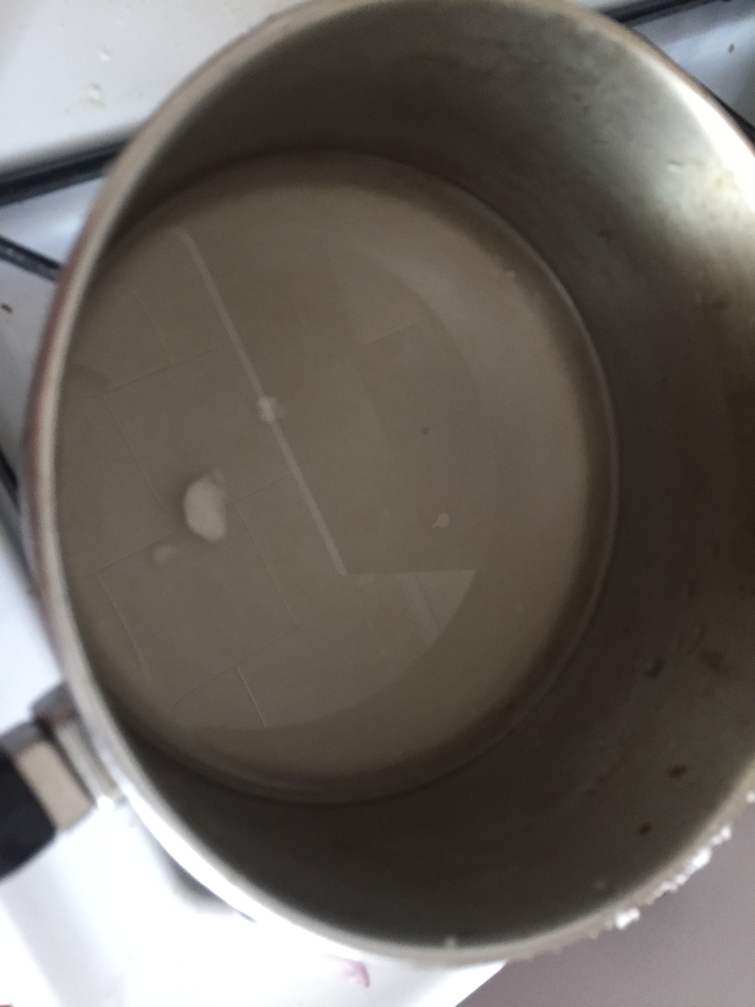 Make Simple Syrup  Add a cup of water to a medium saucepan and then add the sugar. Cook on medium heat and stir until sugar dissolves. Cool and put aside