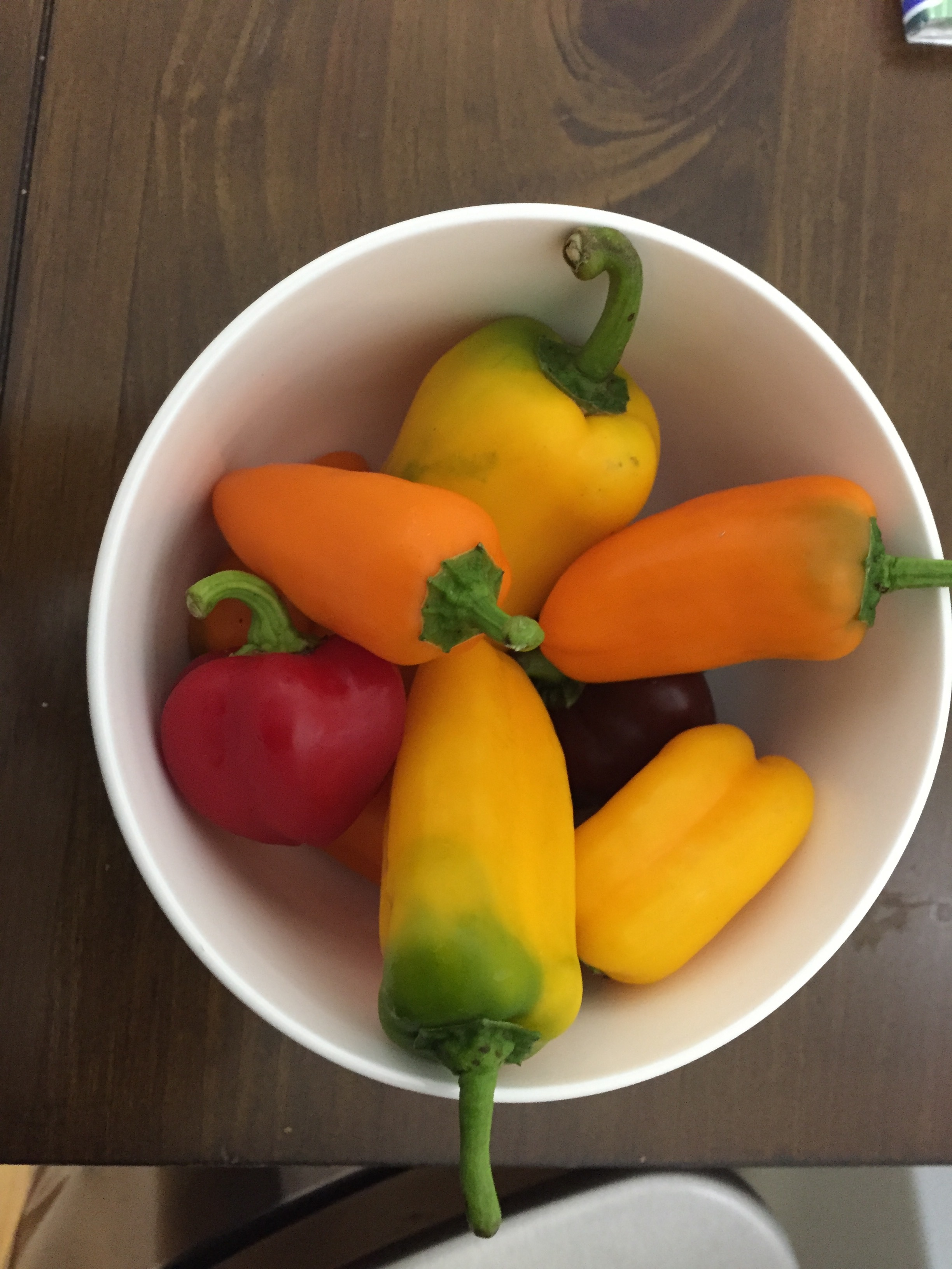 Plan of Attack  Preheat the oven to 425  Slice the peppers lengthwise and remove the core and the seeds