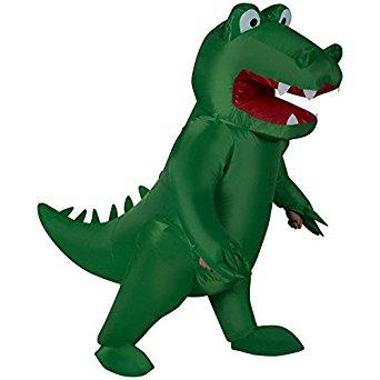 Inflatable Alligator Adult
