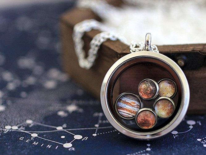 Jupiter & Moons Necklace