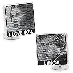 Han & Leia Cufflinks
