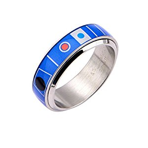 R2D2 Droid Spinner Ring