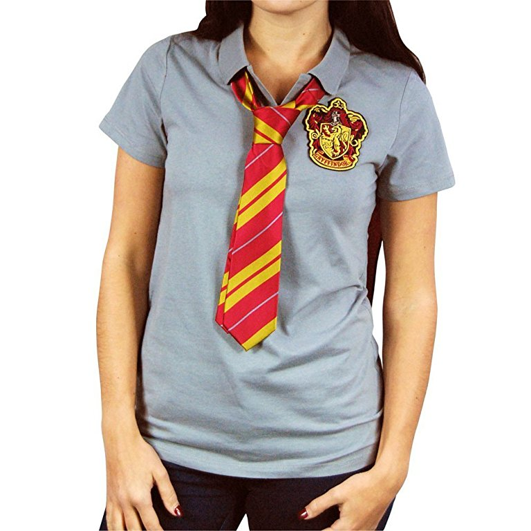 Gryffindor Caped Polo with Tie