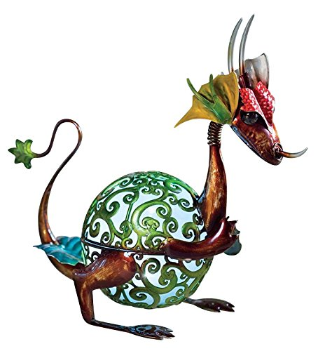 Baby Dragon Garden Statue