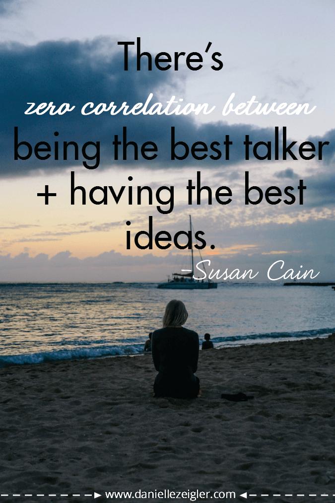 best ideas susan cain quote