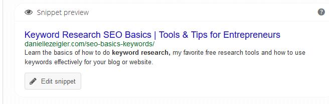 Yoast Wordpress Plugin Title Tags